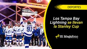 Los Tampa Bay Lightning ganan la Stanley Cup de la NHL tras vencer a los Dallas Stars