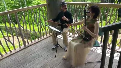 滝野森のフェスティバル二胡演奏