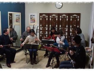 旭川教室での新年演奏会