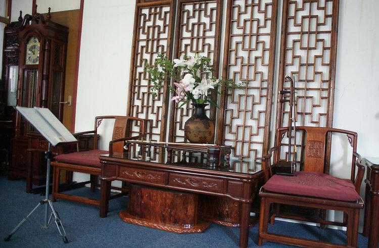 中華二胡学院の教室