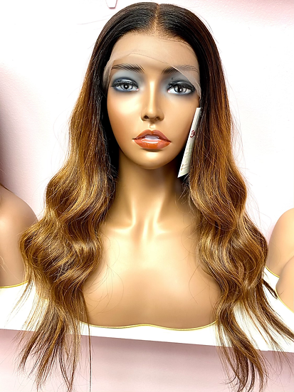 Caramel Lace front wig