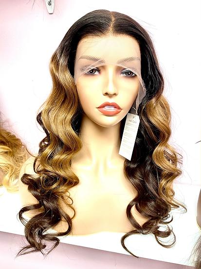 Ombré Brown lace front wig