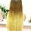 Thumbnail: Ombré Blonde Lace front Wig