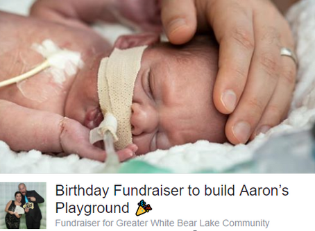 Facebook Birthday Fundraisers a Huge Success!