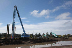 No2 Sports Ground Pile Driving