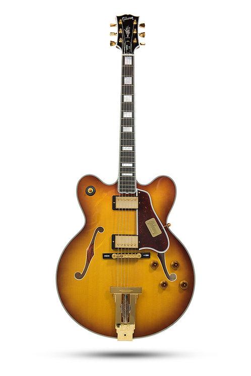 New 2015 Gibson Custom Shop L-5 Double Cut Viceroy Sunburst