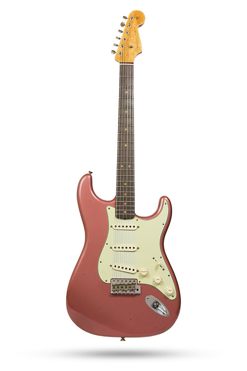 New 2017 Fender Custom Shop '63 Stratocaster Burgundy Mist Metallic LTD NAMM