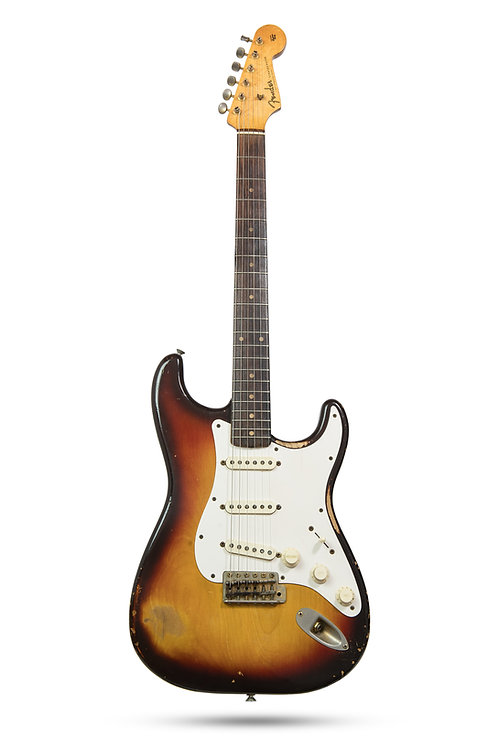 1959 Fender Stratocaster All Original Factory Gold Parts