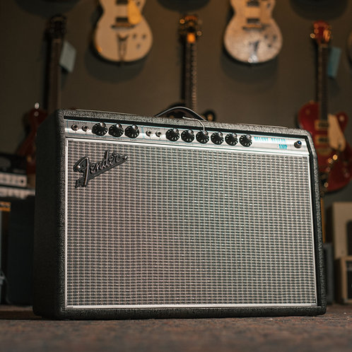 New Fender '68 Deluxe Reverb Limited Edition Gun Metal Grey 1x12""