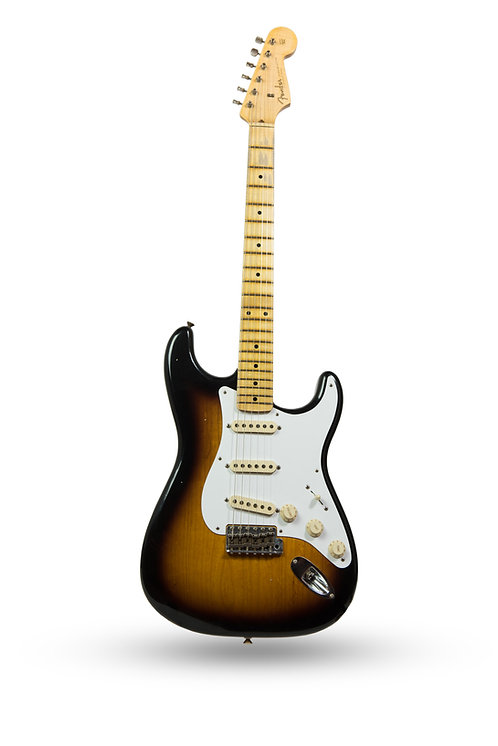 New 2018 Fender Custom Shop '56 Stratocaster Journeyman Relic 2-Tone Sunburst