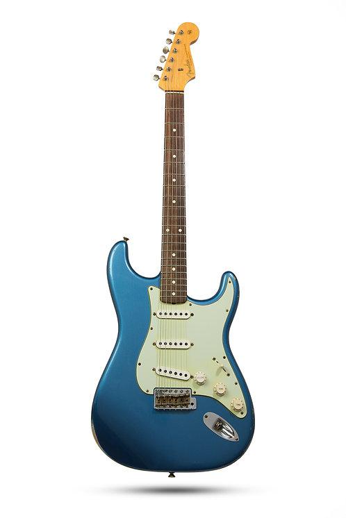 New Fender Custom Shop 1963 Relic Strat Lake Placid Blue
