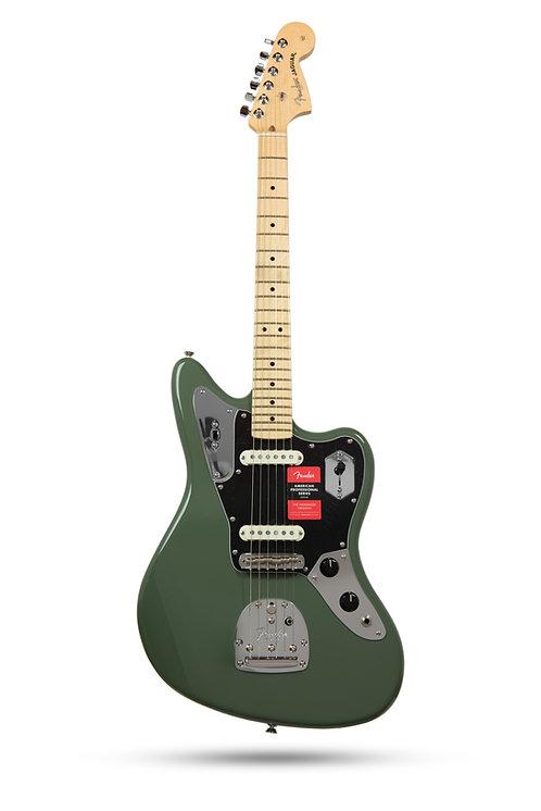 New Fender American Professional Jaguar Antique Olive