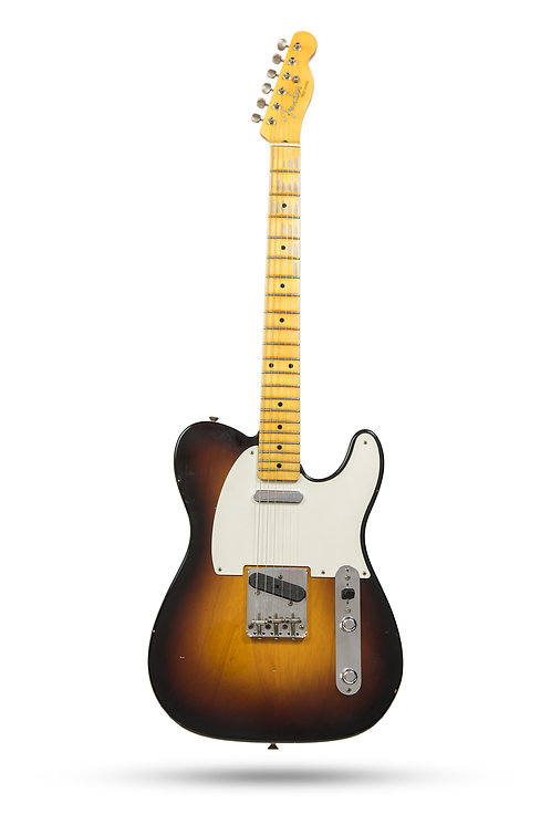 New 2018 Fender Custom Shop '55 Telecaster 2-Tone Sunburst