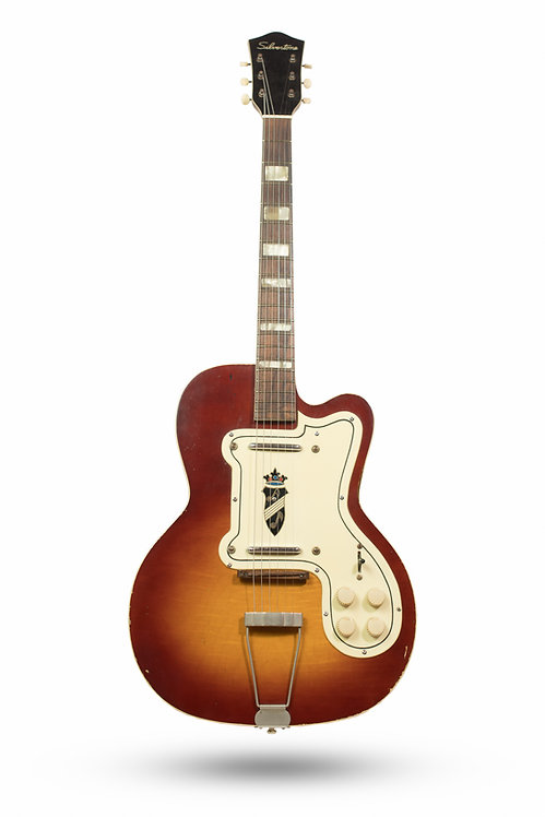1950's Silvertone Thin Twin 1382L