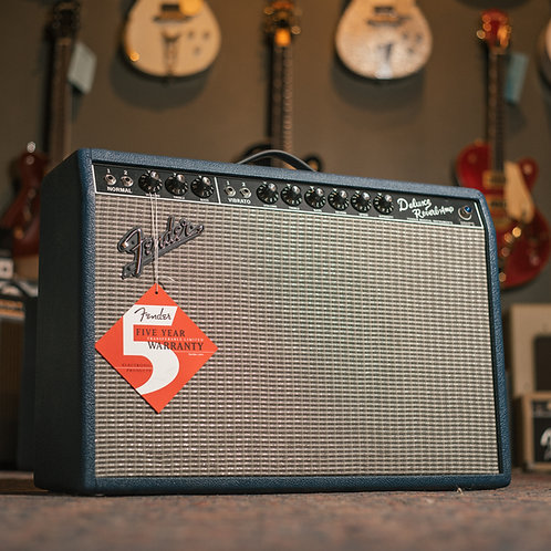 "Fender '65 Deluxe Reverb ""Navy Blues"""