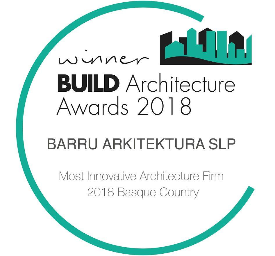 Build Architecture Innovation winner Barru Arkitektura Basque Country 2018