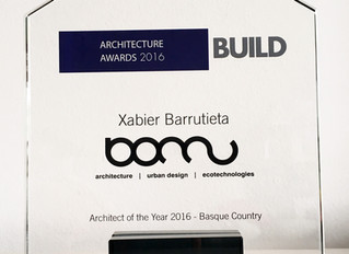 Winner Architect of the Year 2016 - Basque Country! _ Build Architecture Awards