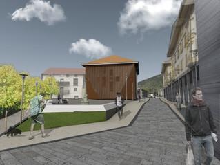 Primer premio en el concurso para ampliar y reformar el ayuntamiento de Irura, Gipuzkoa