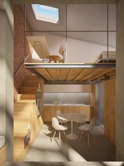 Dining / Kitchen / Mezzanine