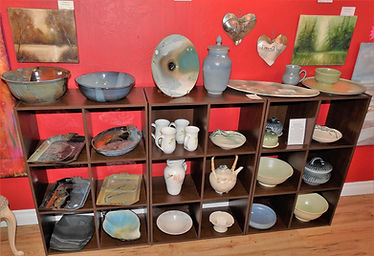 Art Gallery, Parksville BC, Ceramics, Pottery, Art Glass, Fibre Arts, 3D