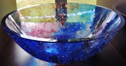 Thick Glass Bowl