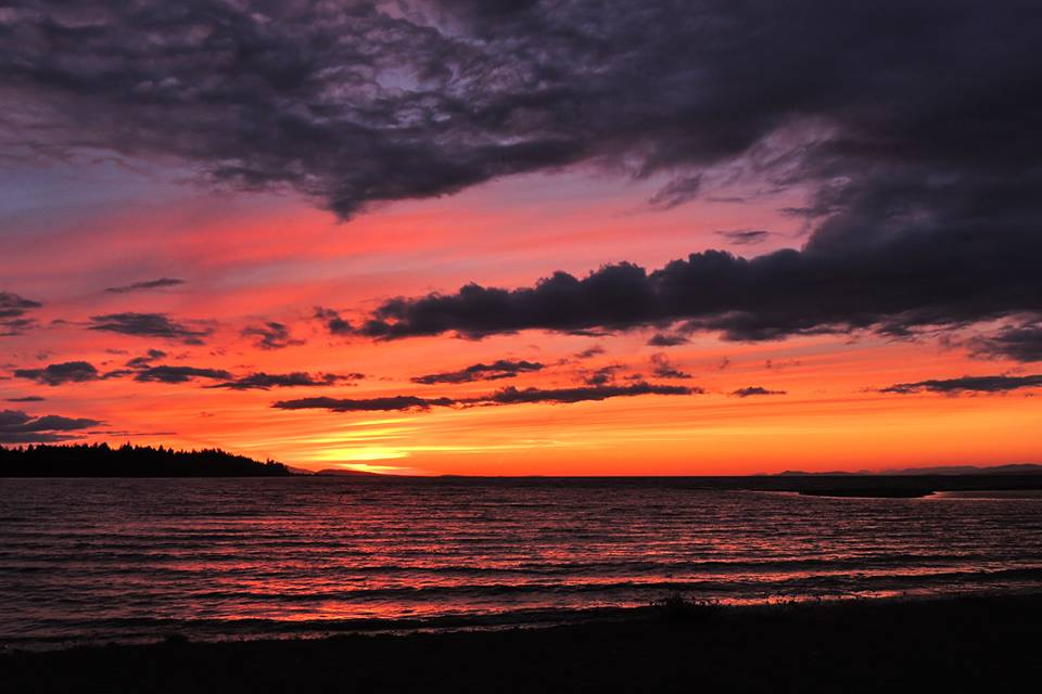 Parksville Beach Sunset