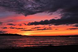 Parksville Beach Sunset