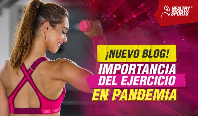 Importancia del ejercicio en pandemia
