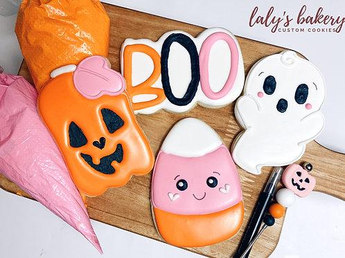 Virtual Halloween Class- Girly