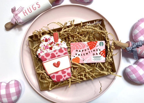 Gift Card Cookie Set