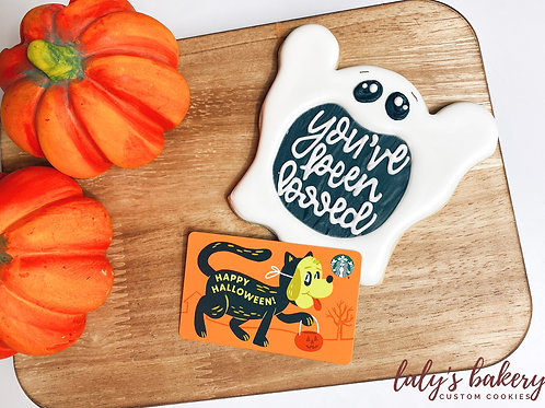 You've Been Booed Gift Card Set