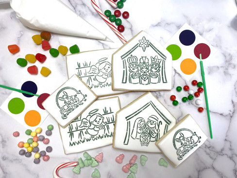 Build-Your-Own and Paint-Your-Own Gingerbread house