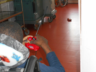 Les enfants polyhandicapés jouent!!!