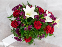 Kukkalaite iso 85e (lilja,ruusu,inkalilja)