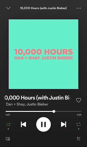 Dan + Shay/Justin Bieber - 10,000 Hours