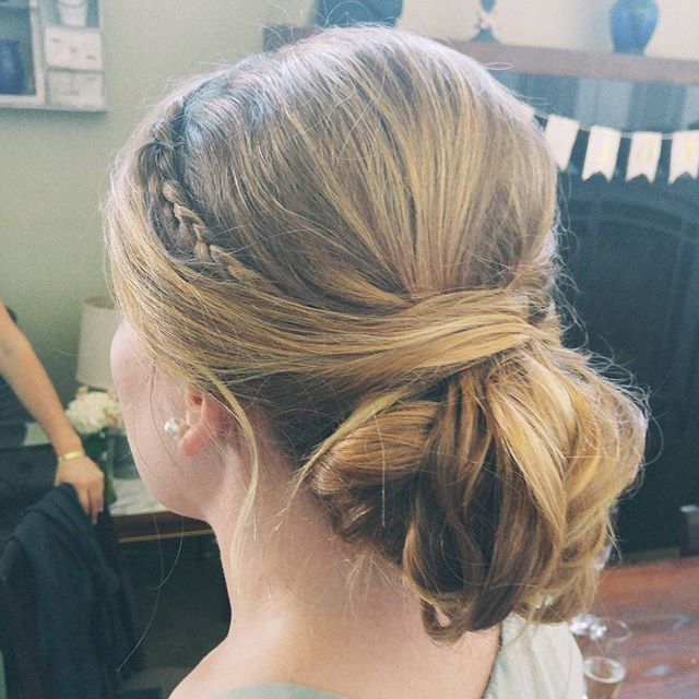 Bridesmaid updo goodness✨🙌💎