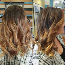 Saturday afternoon balayage is the stuff 💋