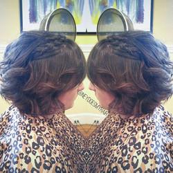 Short hair stylin' ideas! 😘