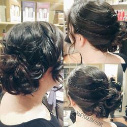 my favorite kind of Bridal Hair 👰💍