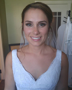 My beautiful bride from Saturday! What an honor to have a down to earth bride and a perfect wedding