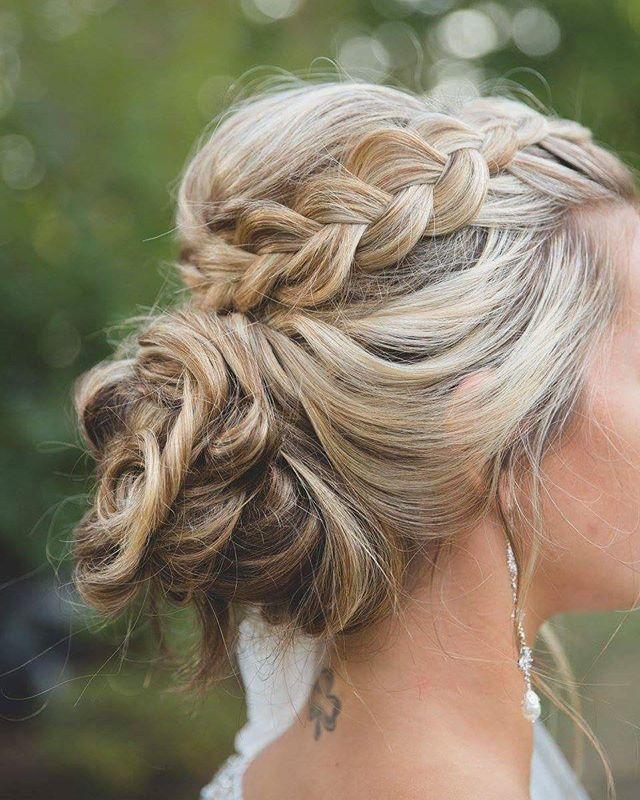 still loving this updo I created for _mrs.mary