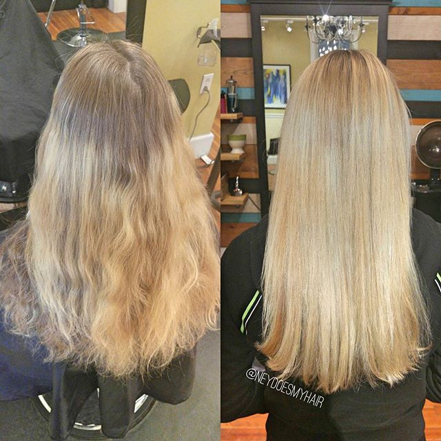 Today's before + after on the gorgeous _nikaylaannxx98! 👊👌🎉