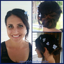 What a day to get married in Vinalhaven! This amazing lady made it so easy to enhance her natural be