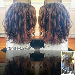 Curly hair dreamzzz 💇