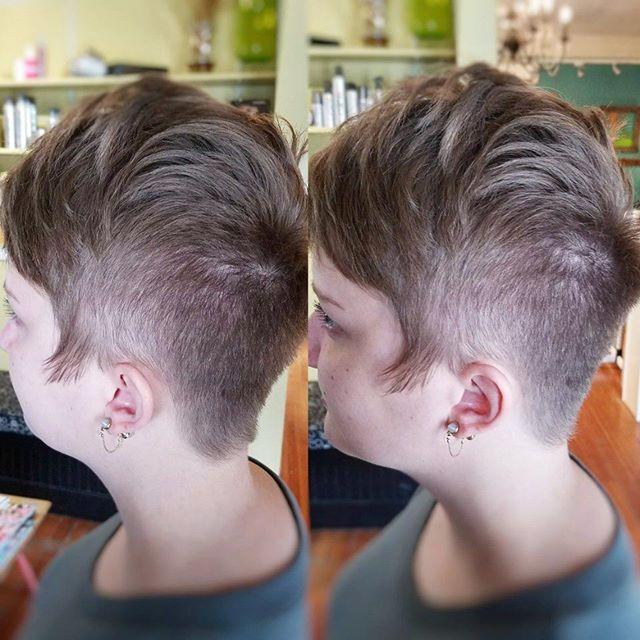 Pixies for dayssss~_•_•_•_#pixiecut #haircut #shorthairdontcare #shorthair #undercut #pixie #portlan