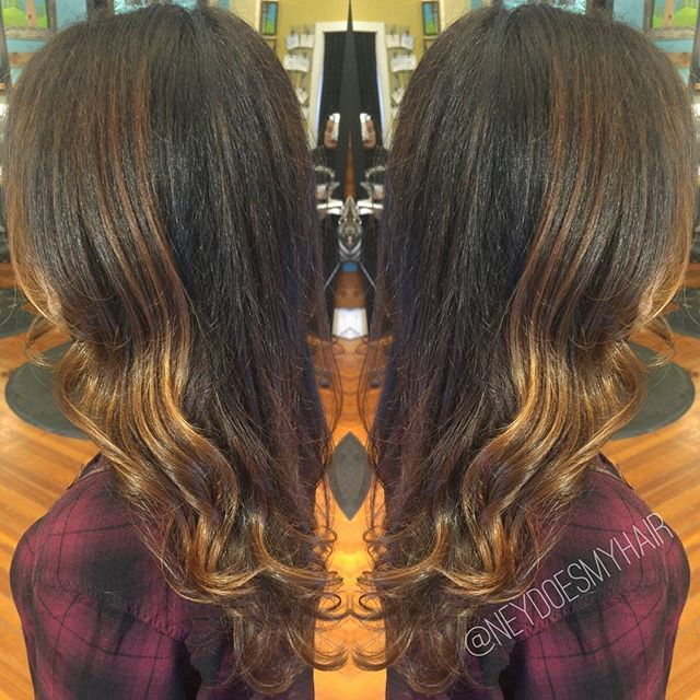 Brightened, summah balayage on one of my favorite ladies, _nicspano!