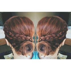 More wedding hair! 💍💎👰