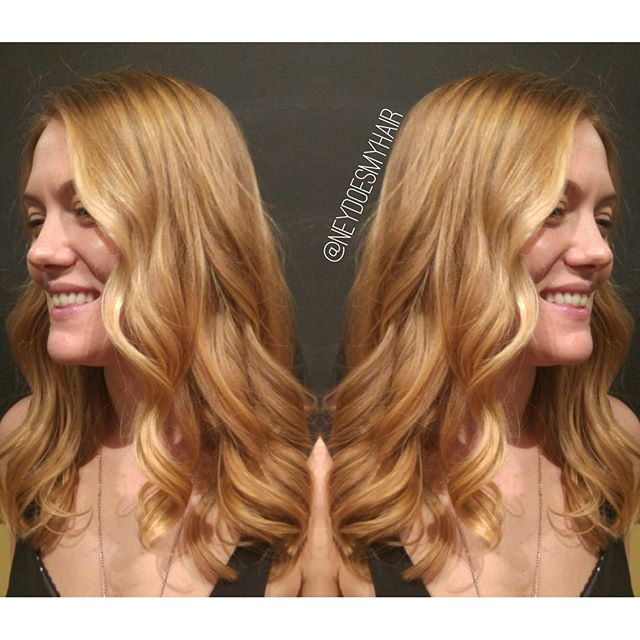 Creamed honey balayage 🍯