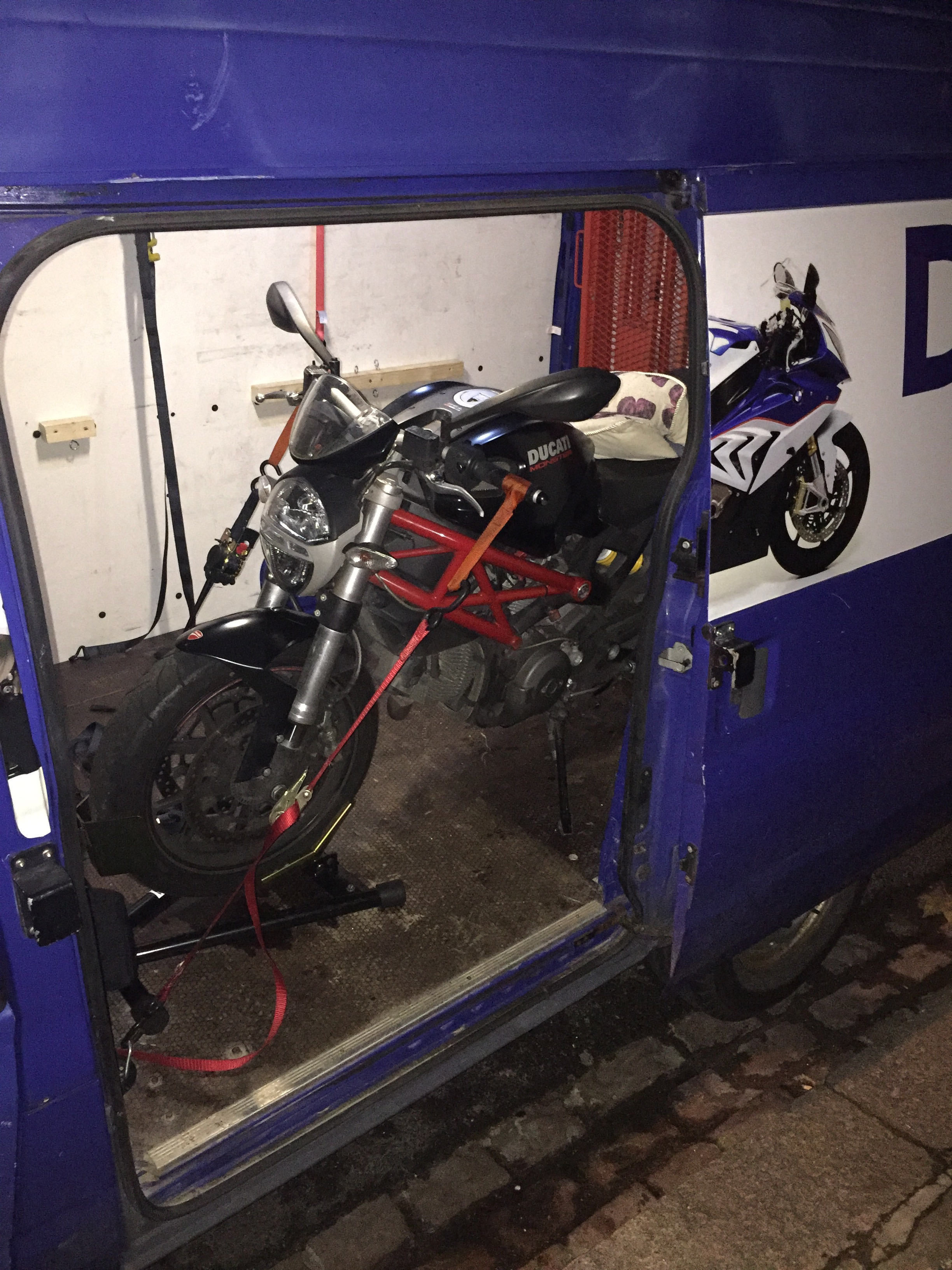 DMR motorcycle recovery