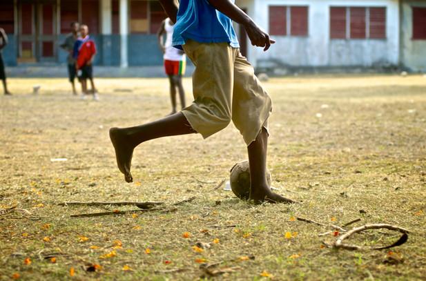 Footballer Feet